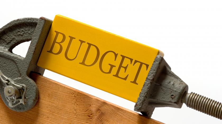 Budget squeezed