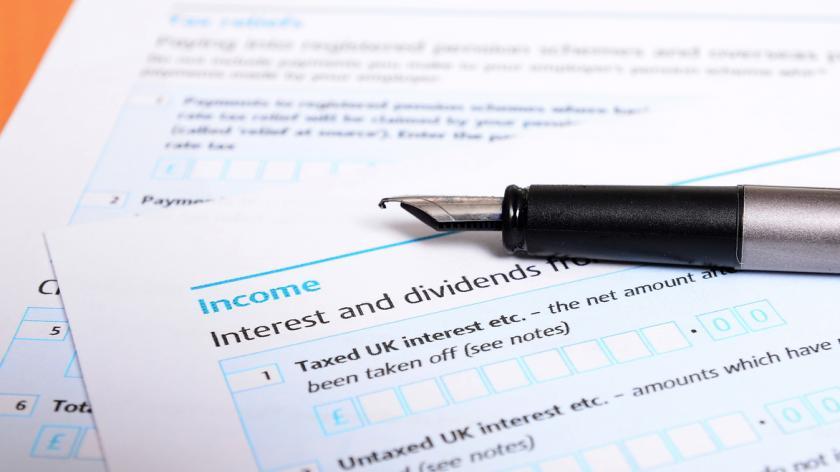 Tax return up close