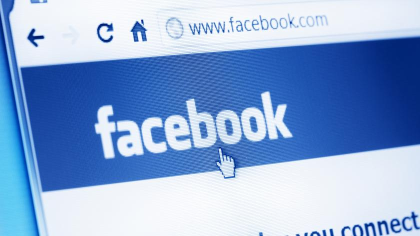 Facebook main webpage