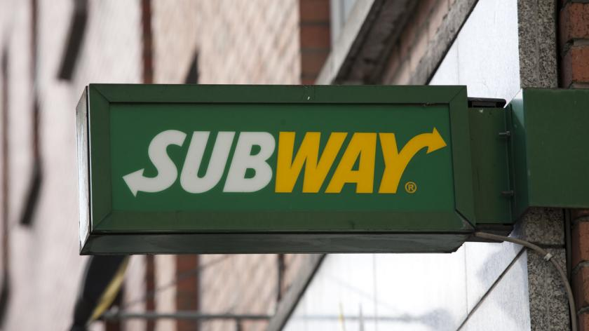 Subway sandwich shop located in Dublin, Ireland.