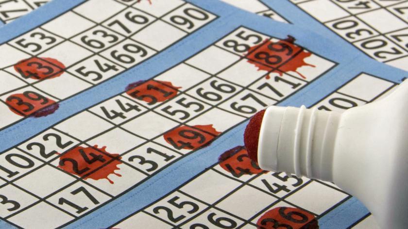 Bingo Card and Dabber