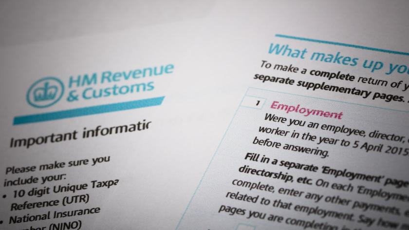 Tax return and employment