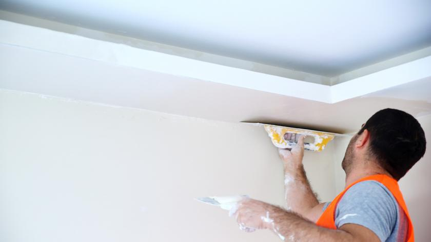 A picture of a plasterer