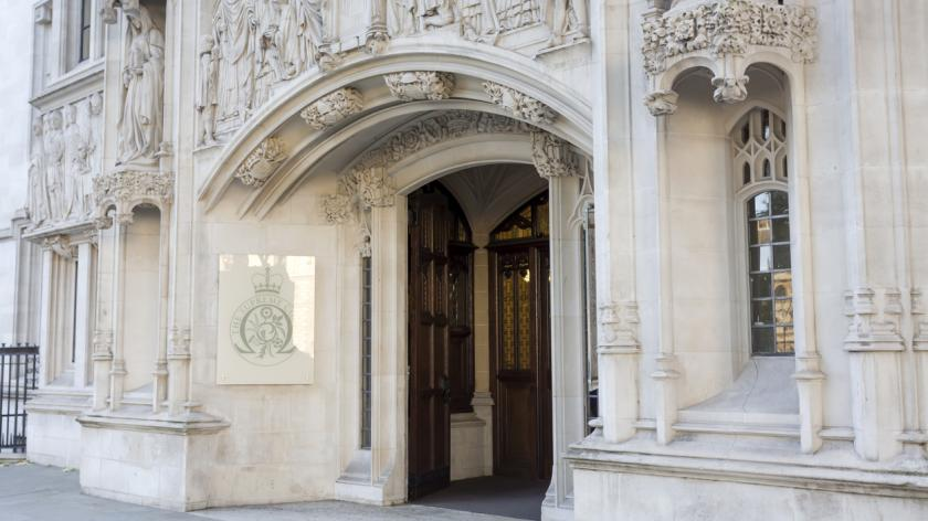 Main entrance of the Supreme Court