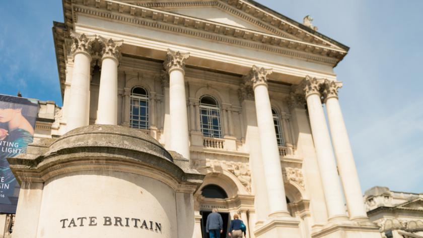 Tate Britain Art Gallery in London