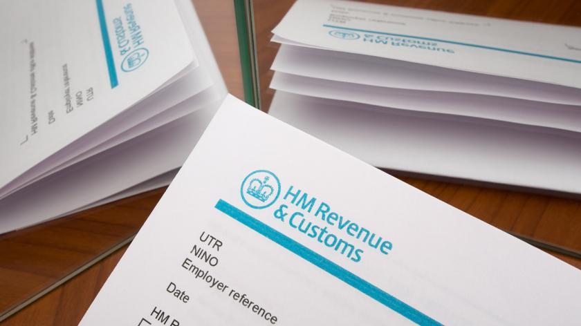 UK tax form, mirrors, no smoke