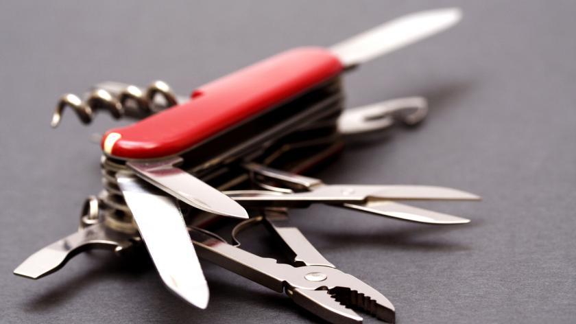 Multipurpose swiss army knife