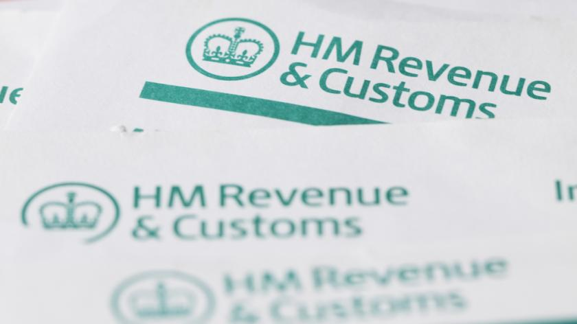 HM Revenue and customs forms background