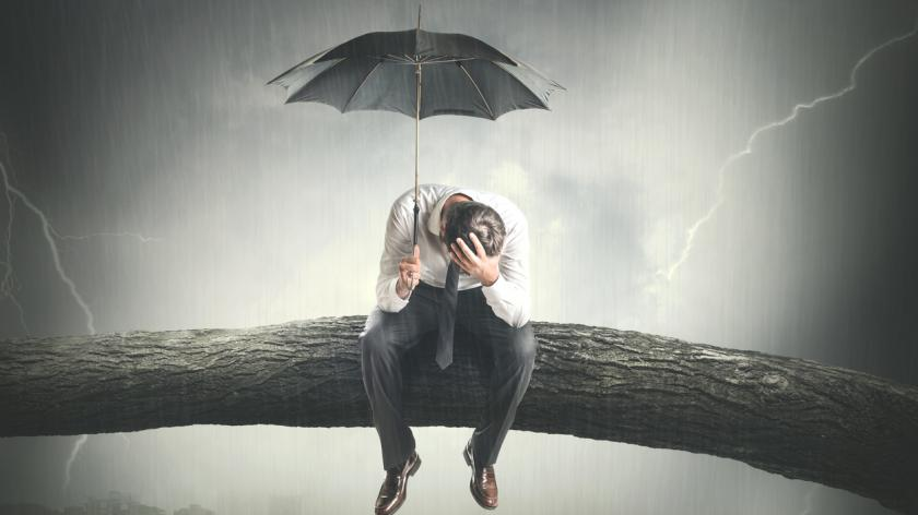 Contractor under an umbrella