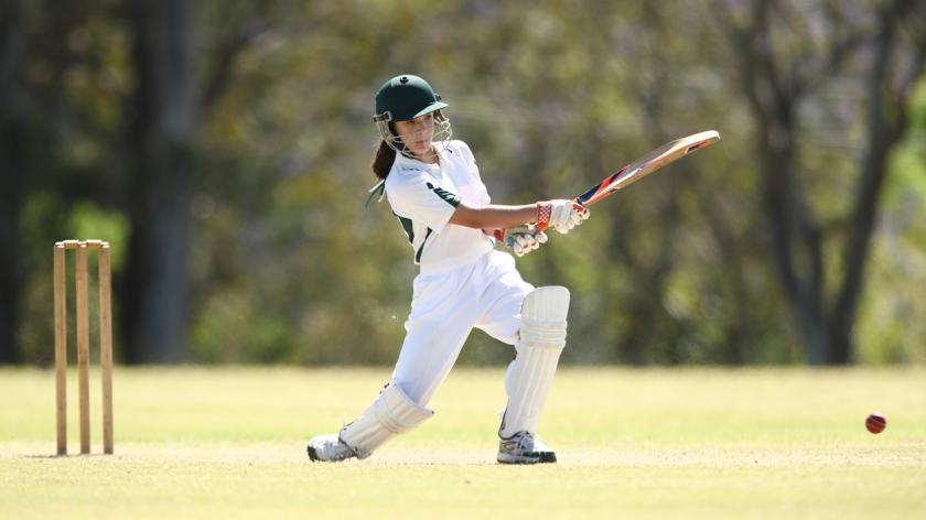 Female cricketer