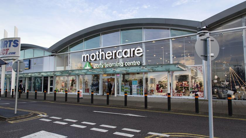Mothercare store in Cribbs Causeway Bristol