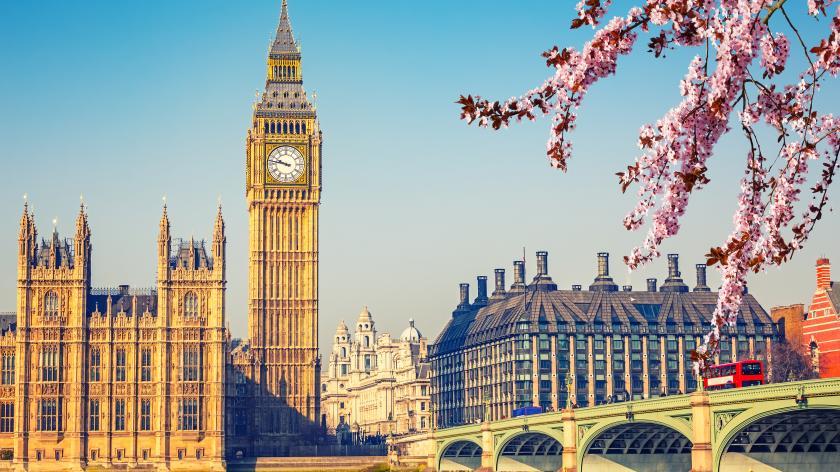 Westminster in Spring