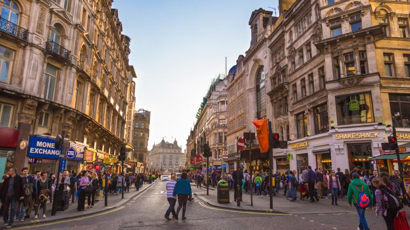 British high street