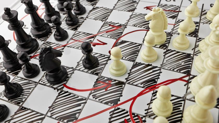 MTD for VAT battle plan - image of chess board