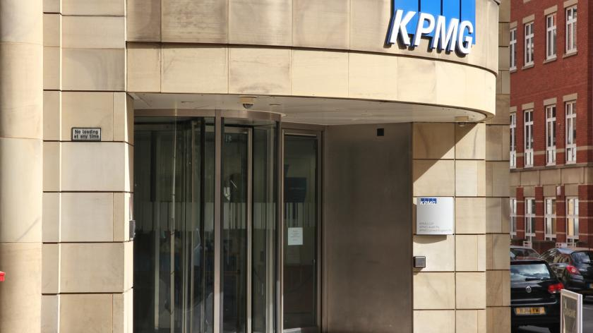 KPMG auditing company in Manchester