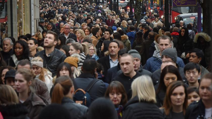Busy Oxford street