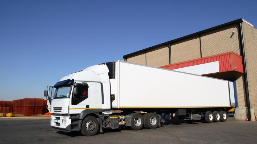 Lorry warehouse
