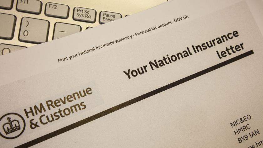 national insurance documents