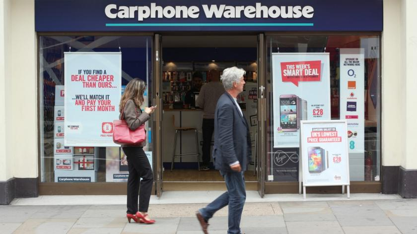 Carphone Warehouse hit with data breach fine