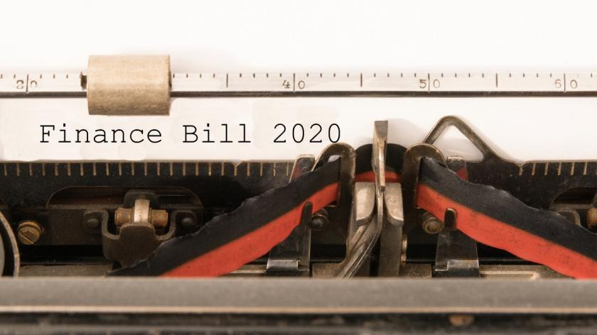 typewriter finance bill