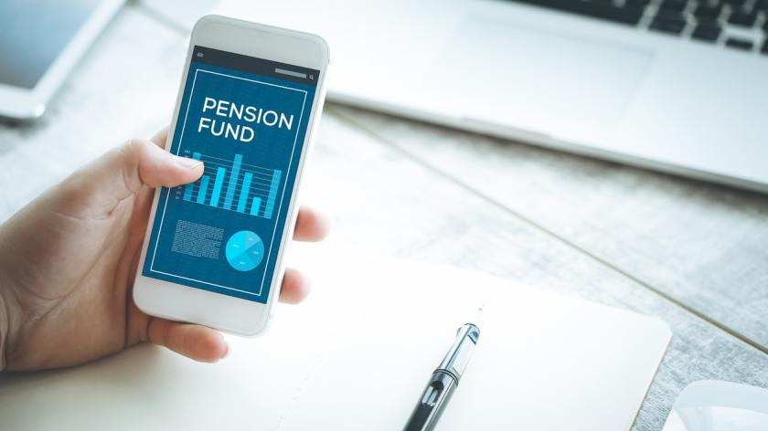 pension fund on mobile