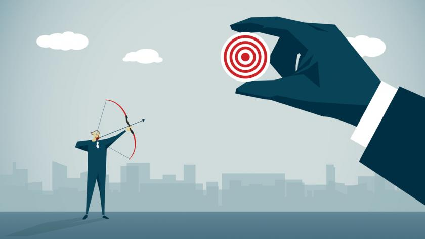 business target illustration