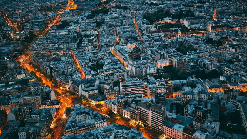 Cityscape of Paris