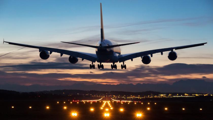 aircraft landing