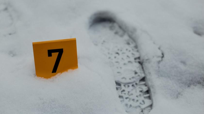 Trace as evidence in a crime scene investigation