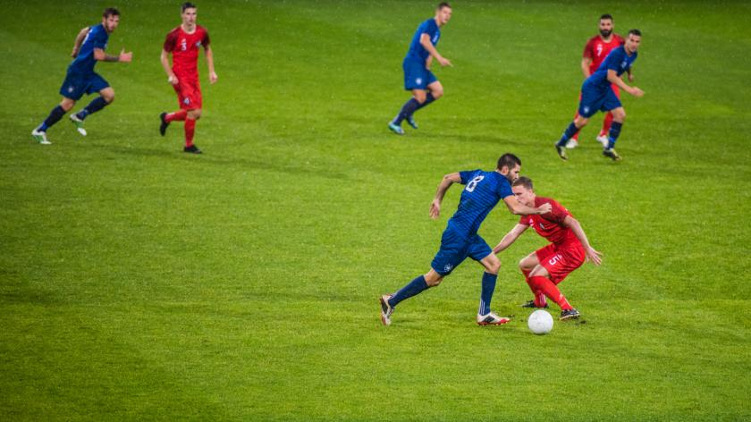 Footballers turn to accountancy during layoff
