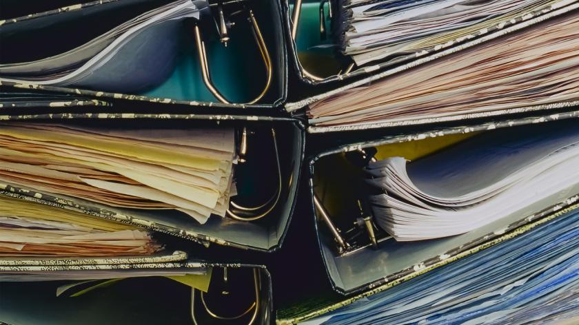 Paper invoices