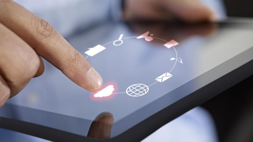 Cloud computing on Digital Tablet