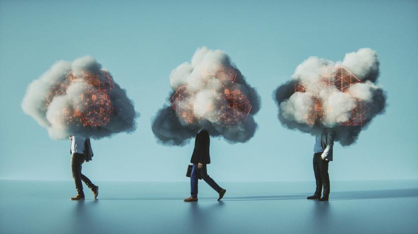 mobile cloud computing conceptual image