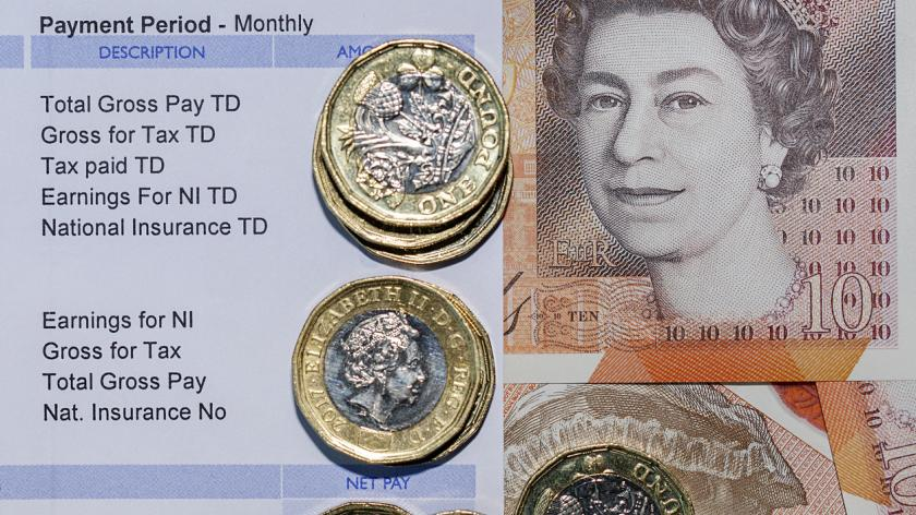 British Payslip - Paycheck