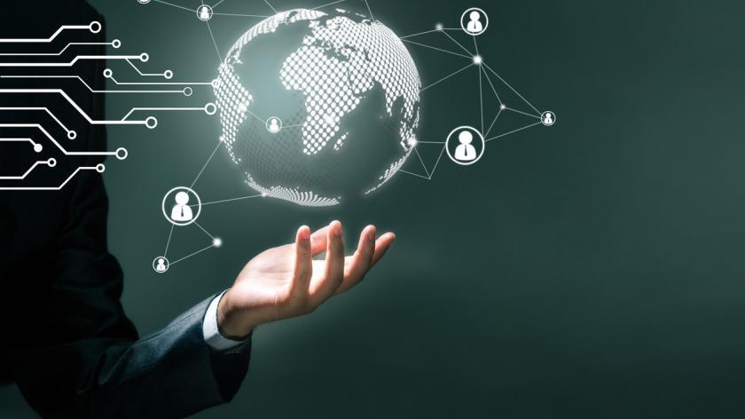 Technology business concept
