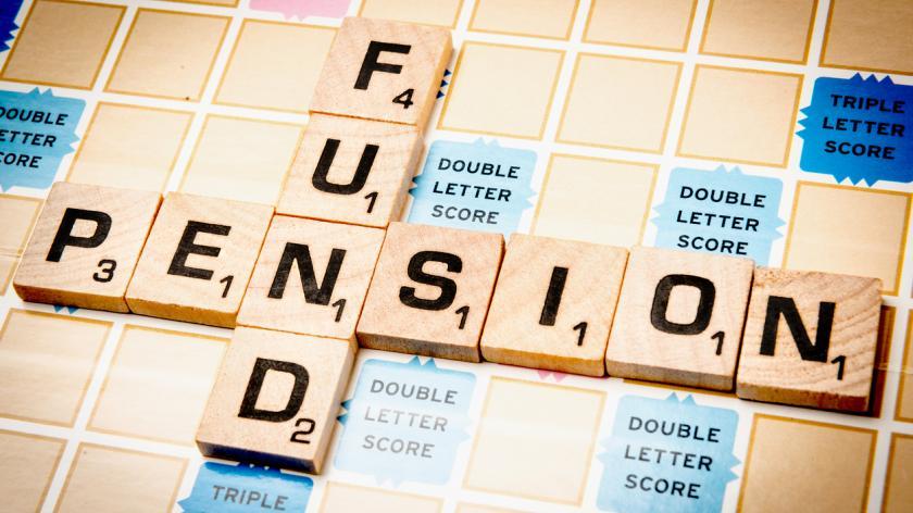 pension fund scrabble tiles