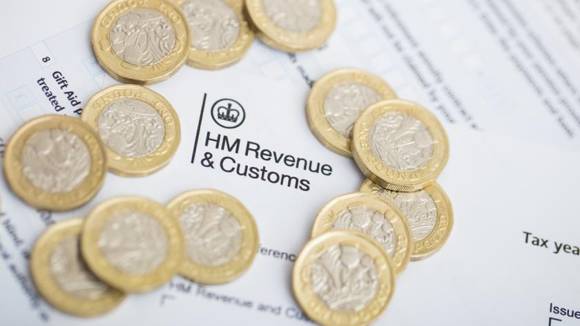 UK Revenue Tax Form