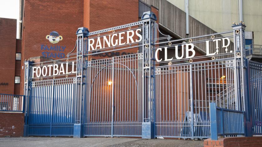 Glasgow Rangers gates