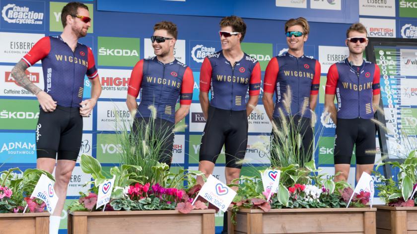 Tour of Britain Cycle Race 2016, Congleton, UK