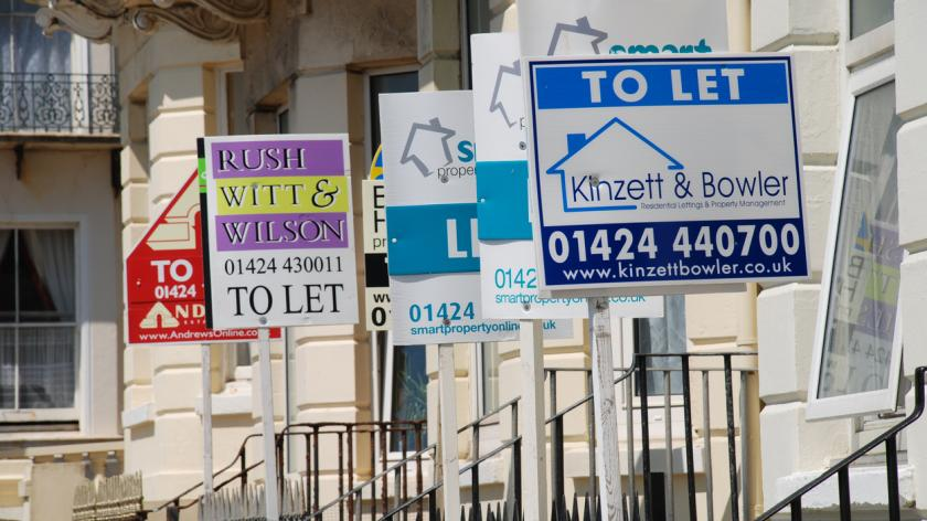 Property to let signs