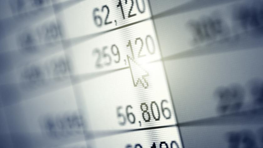 spreadsheet concept