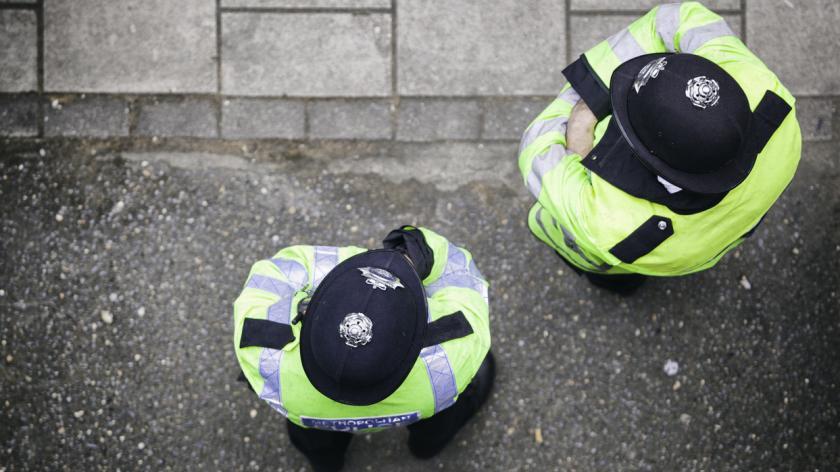 Metropolitan Police Offices In London