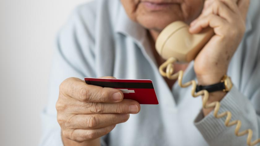 Senior Woman With Credit Card