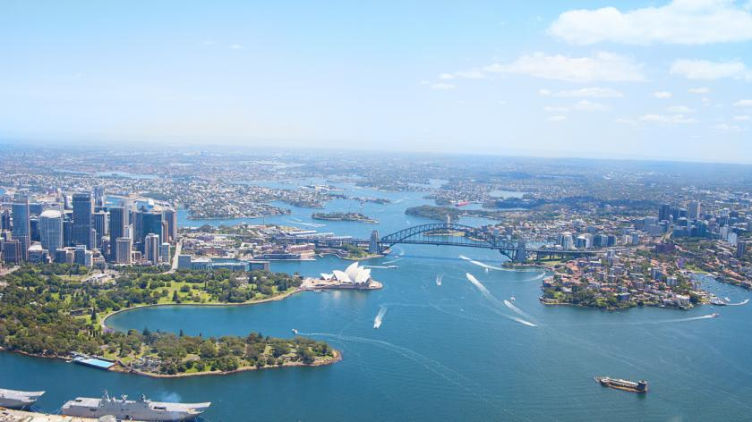 Sydney: aerial view