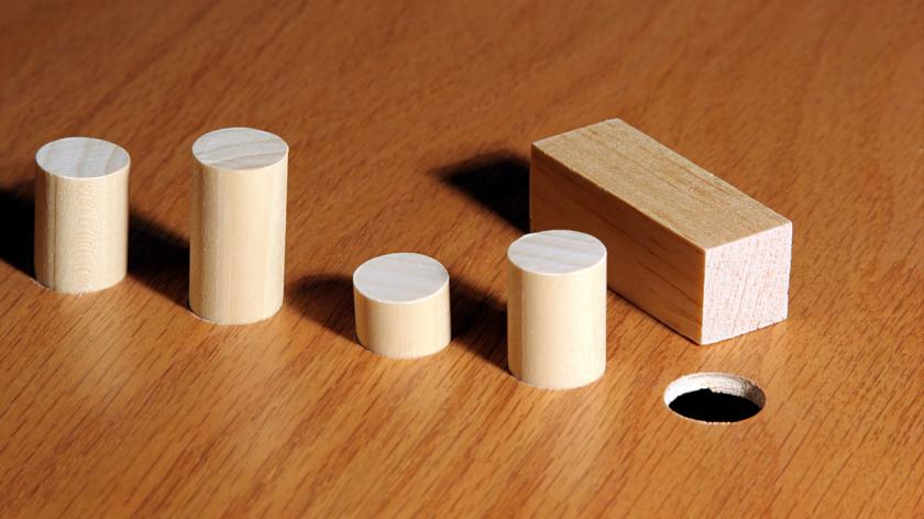 Square peg round hole