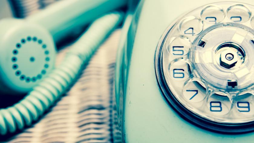 vintage landline