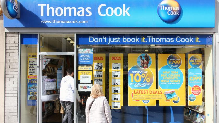 Thomas Cook store Liverpool