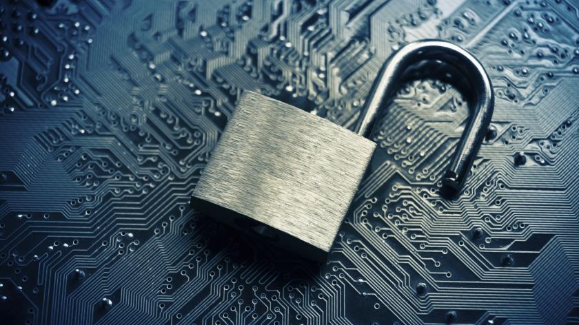 digital lock broken