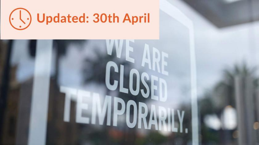Coronavirus Job Retention Scheme details - 30 April update