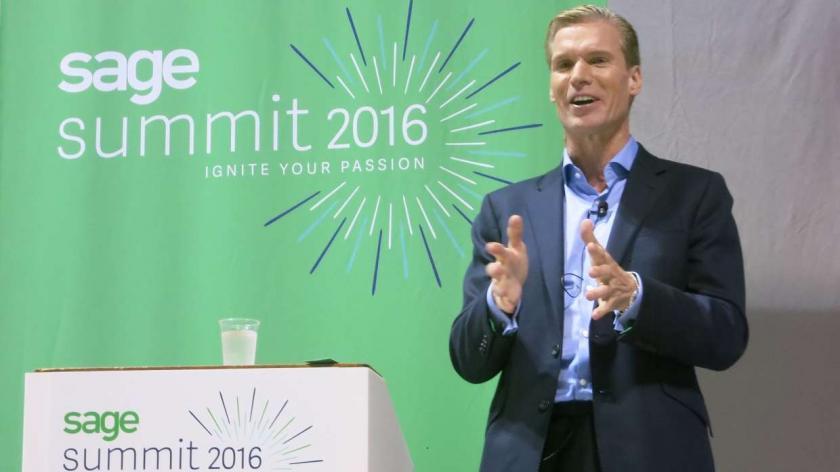 Sage CEO Stephen Kelly
